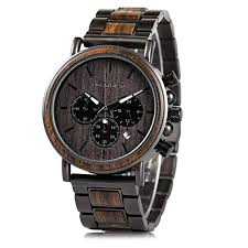 Mens Wooden Watches Business Casual ... - Amazon.com