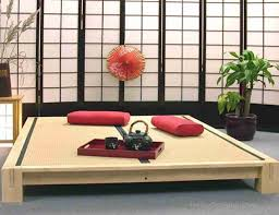 living room mattress: adorable japanese living room interior and furniture ideas alluring wooden tea tray with two red