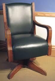 art deco oak swivel desk chair art deco office chair