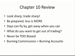 textbook trading notes and review of chapter daily routine the great parts about this chapter is everything in it is timeless and evergreen this chapter would be useful for a trader today or ten years from now