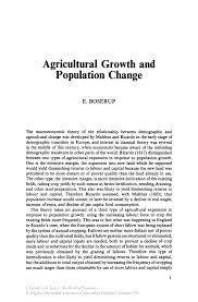 agricultural growth and population change  springer inside