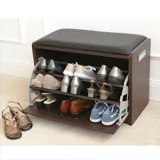 cool hiden shoe rack design inside the small bench chair smart furniture for space saving concept amazing indoor furniture space saving design