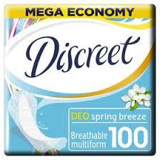<b>Прокладки</b> ежедневные <b>Discreet Deo</b> Spring Breeze Multiform, 100 ...