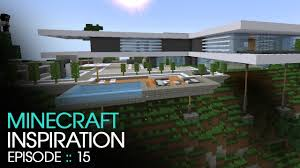 Modern Mountain House Minecraft Modern Mountain House Inspiration W Keralis Youtube