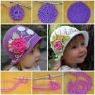 Lovely crochet hats ideas patterns for women