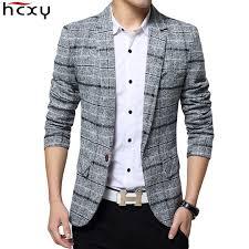 <b>2019 New</b> Arrival <b>Business</b> mens blazer Casual Blazers <b>Men</b> lattice ...