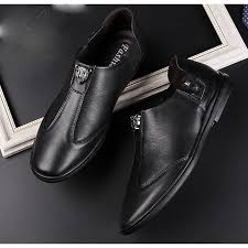 American Pluvdgy-Leather <b>shoes men's young men business</b> ...