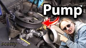 How to Replace <b>Power Steering Pump</b> in Your Car - YouTube