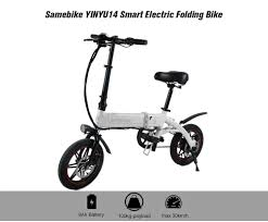 €465 with coupon for <b>Samebike YINYU14 Smart Folding</b> Bike ...