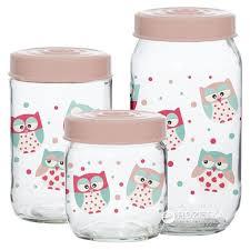 ROZETKA | <b>Набор банок для хранения</b> продуктов Herevin Owl 3 ...
