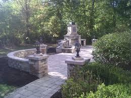 outdoor fireplace paver patio: columbus paver patio paver patios paver patio design paver patio repair landscape contractors    columbus