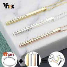 stainless steel necklace for women man lucky love arrow pendant choker engagement high qualityjewelry