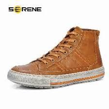 <b>Serene Men Oxford Shoes</b> Nubuck Leather Lace-Up Flats Vintage ...