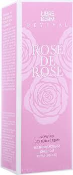 <b>Крем</b>-флюид Librederm Rose De Rose <b>Возрождающий</b>, дневной ...