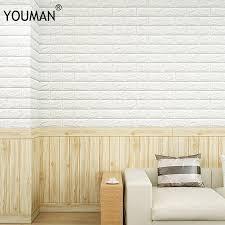 <b>Wallpapers YOUMAN</b> 70cm X 15cm PE Foam Waterproof <b>Self</b> ...