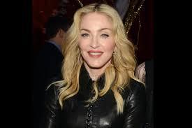 Madonna  - 2018 Dyed hair & beachy hair style.