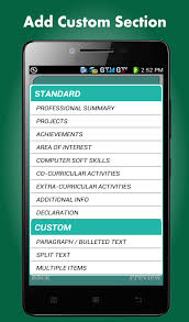 smart resume builder   cv free   android apps on google playsmart resume builder   cv free  screenshot