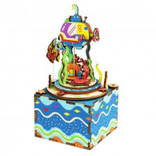 <b>Деревянный 3D</b>-<b>конструктор</b> музыкальная шкатулка <b>Robotime</b> ...