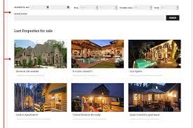 hometown real estate joomla template joomla real estate template real estate website design