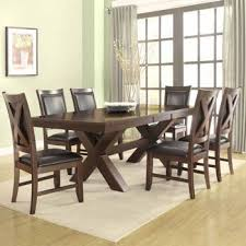 seven piece dining set: costco braxton  piece dining set
