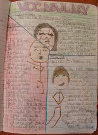 always write personifying vocabulary writing about new words 7th grader sarah personifies three w a c words