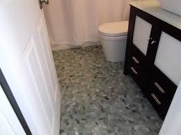 flooring bathroom floating floor beautiful zen bath river rock floor with floating bench sliced sea gre