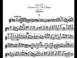 <b>Prokofiev Violin Concerto</b> No. 1 in D Major, Op. 19 (Fischer) - YouTube