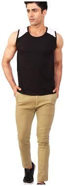 Buy BKS Collection 1 <b>Sleeveless Round Neck</b> Men Gym <b>Vest</b> ...