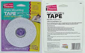 "Brand New <b>Foam</b> Mounting Tape 3/4"" X 10FT <b>Pre</b>-<b>Cut</b> Double Sided ..."