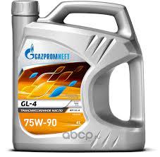 GAZPROMNEFT <b>МАСЛО ТРАНС</b>. GL-4 75W90, 4Л (3) купить в ...