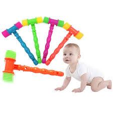 <b>25cm</b> Plastic Whistle <b>Training Toddler</b> Baby <b>Kids</b> Handle Hammer ...