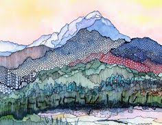 31 Best <b>Mountain</b> art images | <b>Mountain</b> art, Art, Landscape <b>paintings</b>