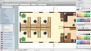 office layout software building drawing tools design elements office layout