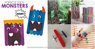 50 Fun Popsicle <b>Crafts</b> You Should Make With Your Kids This Summer