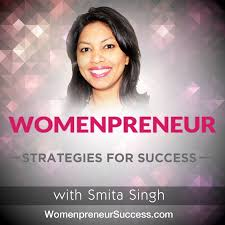 pod fanatic podcast womenpreneur strategies for success your short term goals and long term vision womenpreneur strategies for success smita singh logo