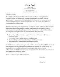 electronics technician cover letter sample of cover letter for job electronic technician cover letter 91121113106 cl computer repair technician computers technology traditional 1 4html