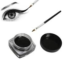 <b>Black Waterproof Eyeliner</b> cream Make Up <b>Beauty</b> Comestics Long ...