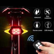 <b>Smart Bike Turning Signal</b> Cycling Taillight Intelligent USB Bicycle ...