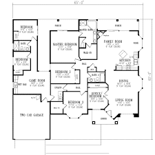 Home Plans  amp  Design   BEDROOM HOME PLANSNeoClassical House Plan   Sq Feet and Bedroom s  from