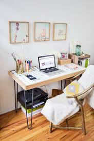 home office in a tiny bedroom desk unit home
