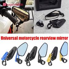 <b>A Pair</b> of Motorcycle <b>Rearview</b> Mirrors 360° Rotation Heavy Duty ...