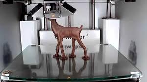 Ultimaker 2 - 3D <b>printing</b> timelapse of a beautiful <b>Deer</b> model ...