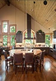images about Open Spaces on Pinterest   Open floor plans    Love this vaulted ceiling  open floor plan