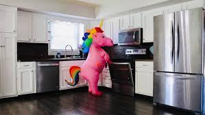 Realtor's kids dress up as <b>unicorn</b>, <b>dinosaur</b> to help sell house | Fox ...