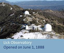 「Lick Observatory country」の画像検索結果