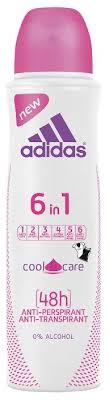 <b>Adidas дезодорант</b>-<b>антиперспирант</b>, спрей, Cool&Care <b>6 in 1</b> ...
