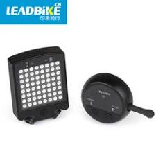 <b>LEADBIKE</b> 64 LED Laser Bicycle Rear Tail Light USB Rechargeable ...