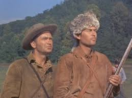 Image result for images of walt disney's davy crockett