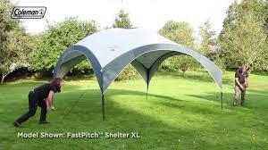 Coleman® FastPitch™ <b>Shelter</b> L 3.6 <b>x</b> 3.6 m - Quick & Easy Set Up ...