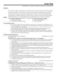 professional senior manufacturing engineer templates to showcase resume templates senior manufacturing engineer